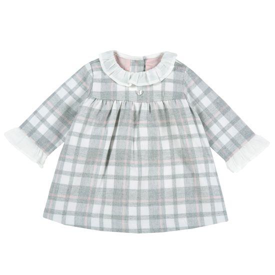 Платье Chicco Happy princess, арт. 090.03047.095, цвет Серый