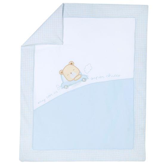 Одеяло Chicco Bears and friends, арт. 090.10121.021, цвет Голубой