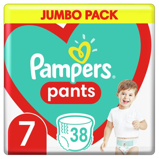 Подгузники-трусики Pampers Pants, размер 7, 17+ кг, 38 шт, арт. 8006540069387