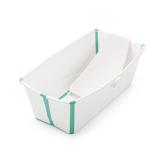 Набор Stokke Flexi Bath: ванночка складная и адаптер , арт. 5315, цвет Бирюзовый