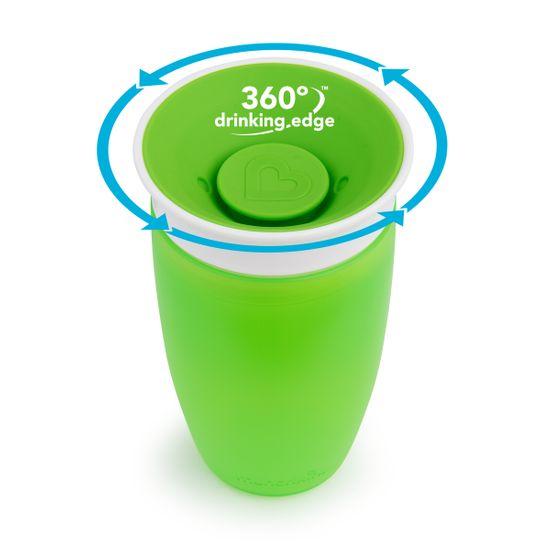 """Чашка непроливная Munchkin """"Miracle 360"""", 296 мл, арт. 01209601, цвет Зеленый"""