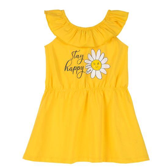 Платье Chicco Stay happy, арт. 090.03950.041, цвет Желтый