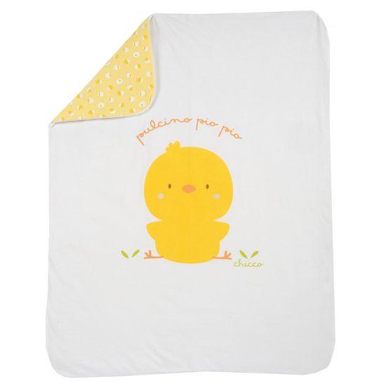 Плед Chicco Funny chicken, арт. 090.05171.033, цвет Желтый
