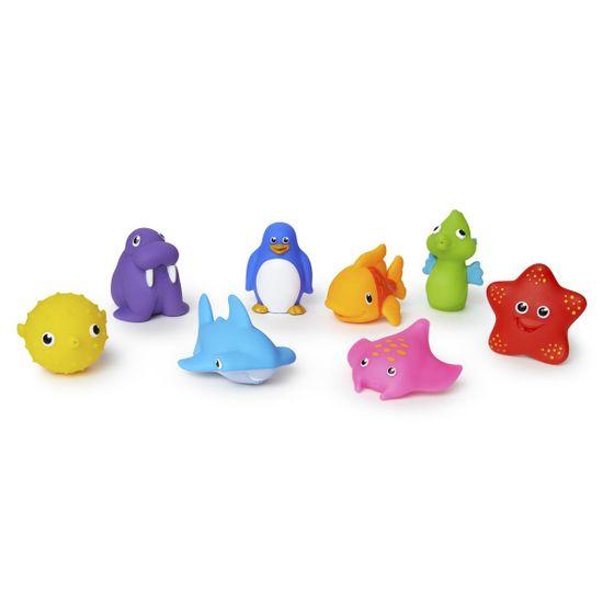 """Игрушечный набор для ванной Munchkin """"Океан"""" (8 шт), арт. 012335, цвет Разноцветный"""