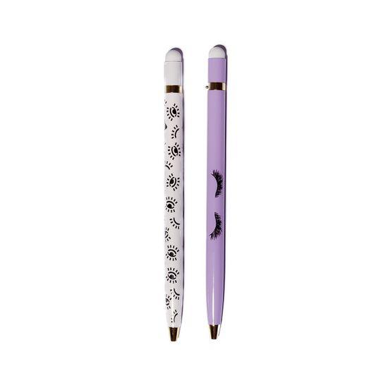 """Ручка шариковая со стилусом YES """"Donna"""", 2 шт, арт. 411935"""