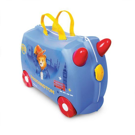 "Детский чемодан Trunki ""Paddington"", арт. 0317-GB01-UKV, цвет Голубой"