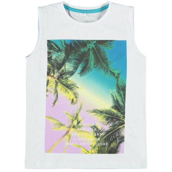 Майка Name it Tropics white, арт. 211.13188174.BWHI, цвет Белый