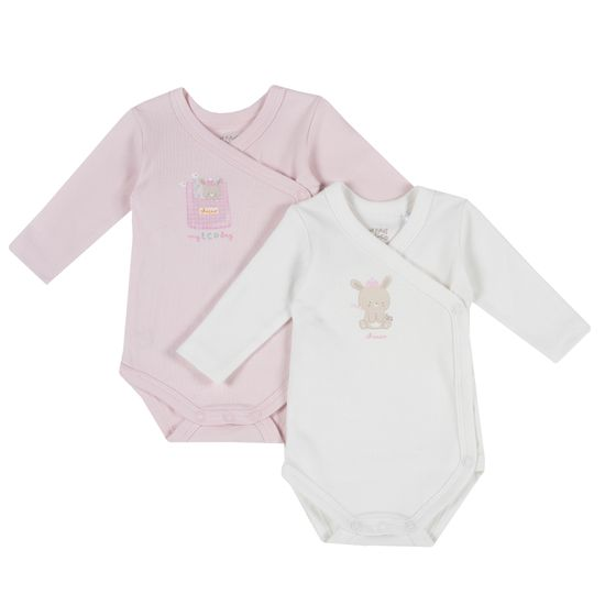 Боди Chicco Pink Bunny (2 шт), арт. 090.11225.011, цвет Розовый