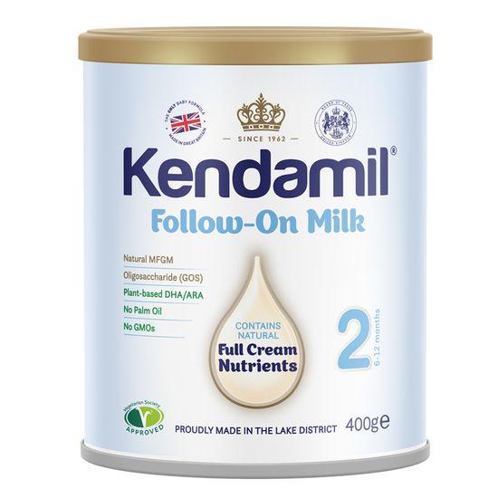 Сухая молочная смесь Kendamil Classic 2, 6-12 мес., 400 г, арт. 77000204