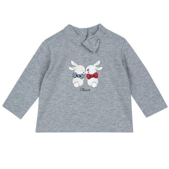 Реглан Chicco Rabbits in love, арт. 090.67515.091, цвет Серый