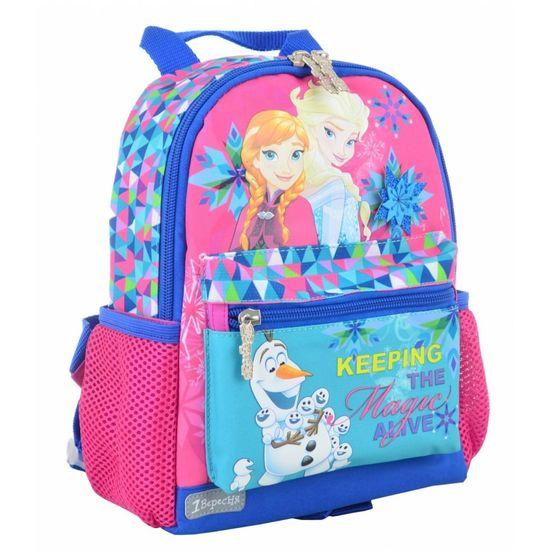 """Рюкзак детский 1Вересня """"Frozen"""", арт. 554754, цвет Розовый"""