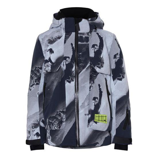 Термокуртка горнолыжная Molo Alpine 2 Tones Teddy, арт. 5W20M310.6139, цвет Серый