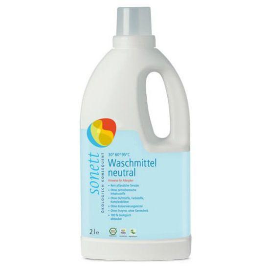 Органический жидкий порошок для стирки Sonett, 2 л (концентрат), арт. GB5018