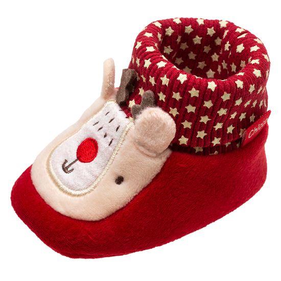 Пинетки Chicco Orbix (красные), арт. 012.56110.710, цвет Красный
