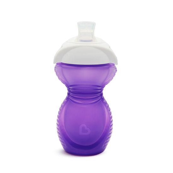 "Бутылочка непроливная Munchkin ""Bite Proof"", 266 мл, арт. 44166, цвет Фиолетовый"