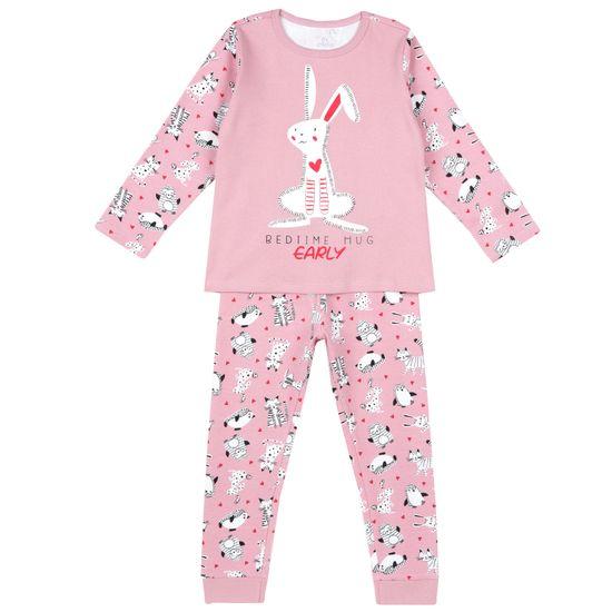 Пижама Chicco Cute Rabbit, арт. 090.31377.015, цвет Розовый