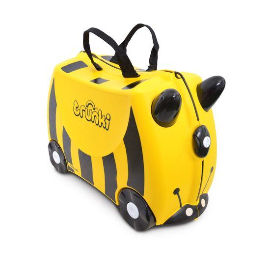 """Детский чемодан Trunki """"Bernard Bumble Bee"""", арт. 0044-GB01-UKV, цвет Желтый"""