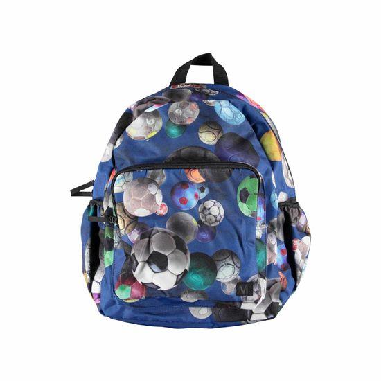 Рюкзак Molo Big Backpack Cosmic Footballs, арт. 7W19V203.4881, цвет Синий