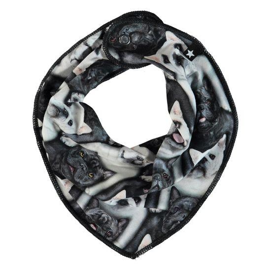 Слюнявчик Molo Nick English Bulldog, арт. 7S19T102.4807, цвет Белый