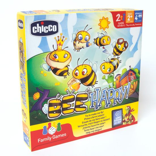 "Настольная игра Chicco ""Bee Happy"", арт. 09168.00"
