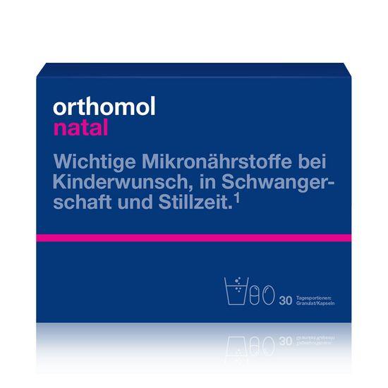 "Витамины для беременных Orthomol ""Natal"", 30 дней, гранулы, арт. 1319904"