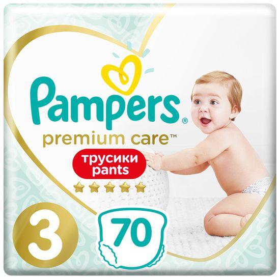 Подгузники-трусики Pampers Premium Care, размер 3, 6-11 кг, 70 шт, арт. 8001090759955