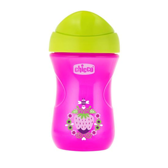 Поильник непроливайка Chicco Easy Cup, 266мл, 12м+, арт. 06961, цвет Розовый