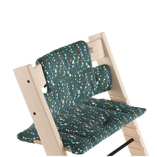 Текстиль для стульчика Stokke Tripp Trapp, от 18 мес., арт. 1003, цвет Terrazzo Petrol