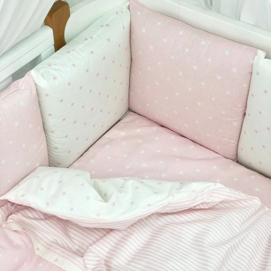 """Комплект постельного белья Piccolino """"Pink stars"""", арт. 111777.02, цвет Розовый"""