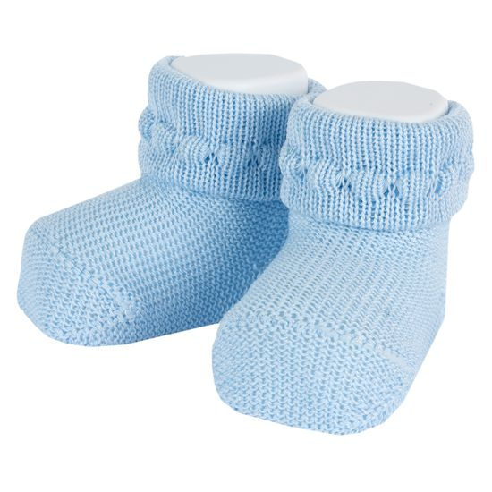 Носки-пинетки Chicco Sweet clouds , арт. 090.01513.021, цвет Голубой
