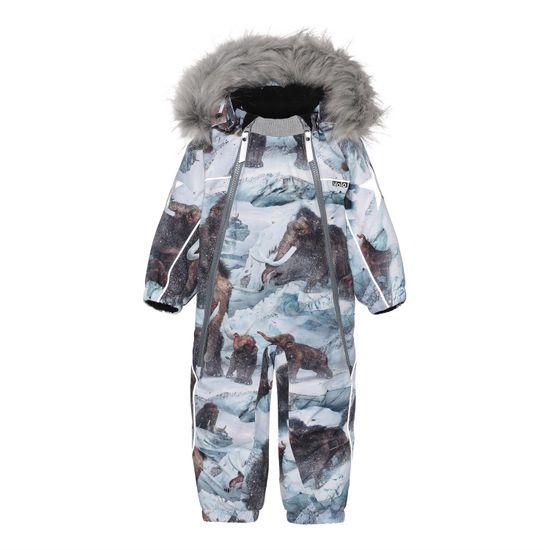 Термокомбинезон Molo Pyxis Fur Mammoth, арт. 5W21N102.6354, цвет Голубой