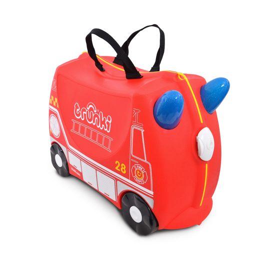 """Детский чемодан Trunki """"Frank FireTruc"""", арт. 0254-GB01-UKV, цвет Красный"""