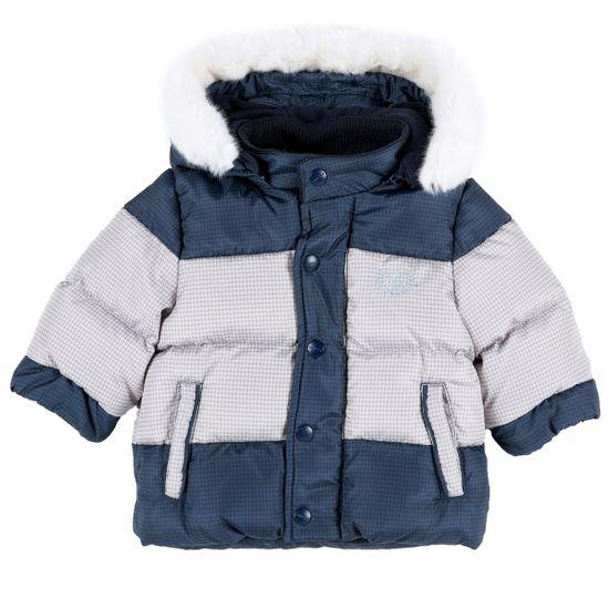 Куртка пуховая Chicco Polo club, арт. 090.87312, цвет Синий