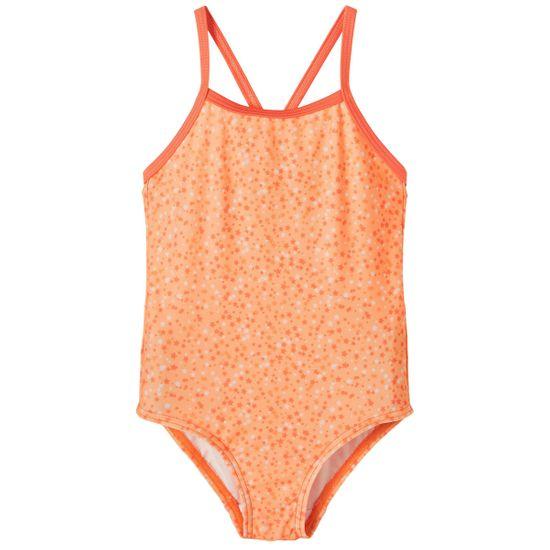 Купальник закрытый Name it Andrea orange, арт. 211.13187596.CANT, цвет Оранжевый