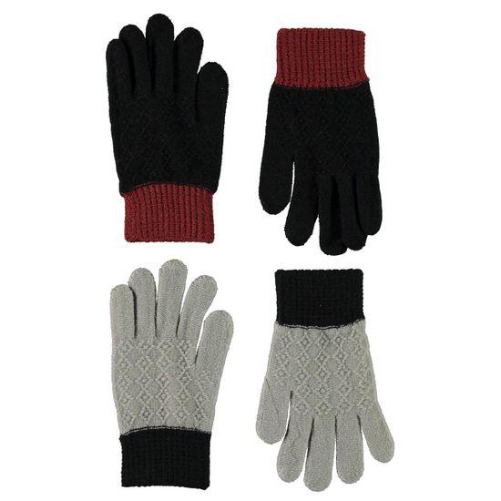Перчатки (2 пары) Molo Kyra Warm Grey Melange, арт. 7W21S204.8340, цвет Синий