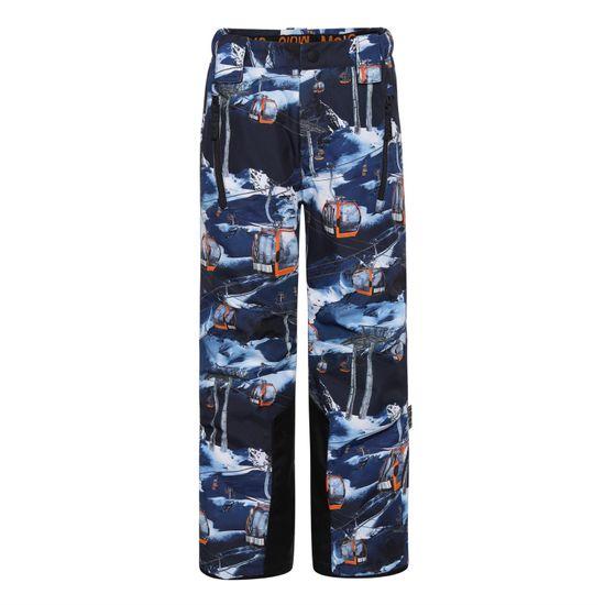Термобрюки горнолыжные Molo Jump Pro Way Up, арт. 5W21I102.6356, цвет Синий