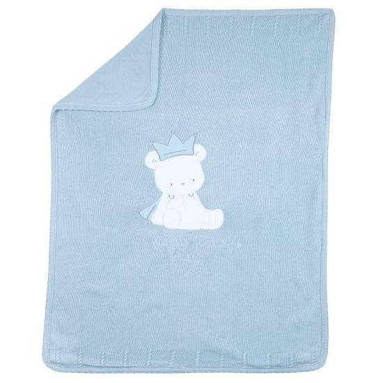 Плед Chicco Bear prince, арт. 090.10593.021, цвет Голубой