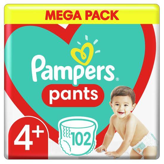 Подгузники-трусики Pampers Pants, размер 4+, 9-15кг, 102 шт, арт. 8006540069479