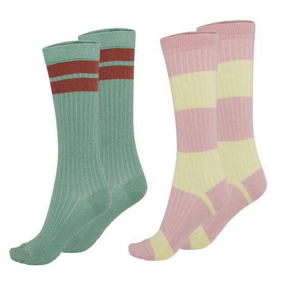 Носки (2 пары) Molo Norvina Pistachio, арт. 7S21G107.8297, цвет Бирюзовый