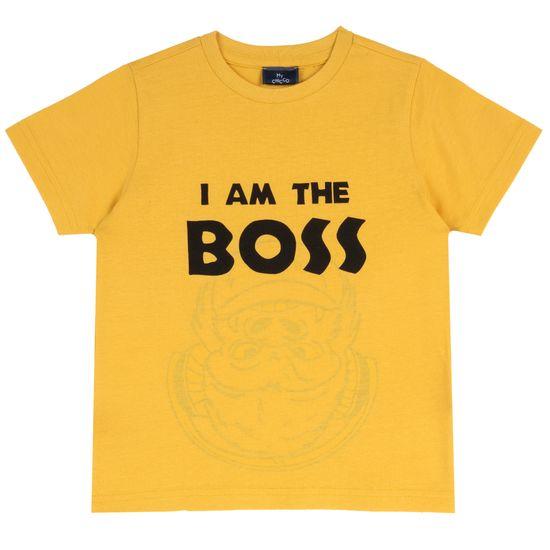 Футболка Chicco Big boss yellow, арт. 090.67248.041, цвет Желтый