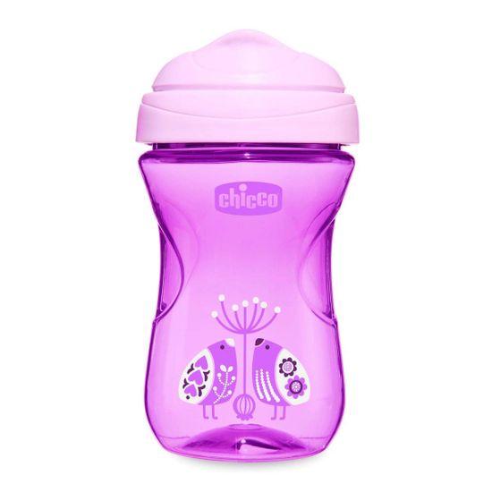 "Поильник непроливайка Chicco ""Easy Cup"", 266мл, 12м+, арт. 06961.00.00, цвет Фиолетовый"