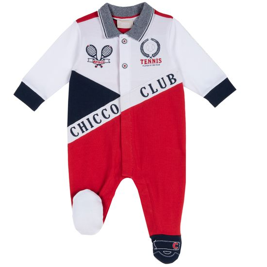 Комбинезон Chicco Tennis club, арт. 090.02101.075, цвет Красный