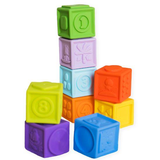 "Силиконовые кубики Bright ""Starts Stack & Squeeze Blocks"", арт. 12616"