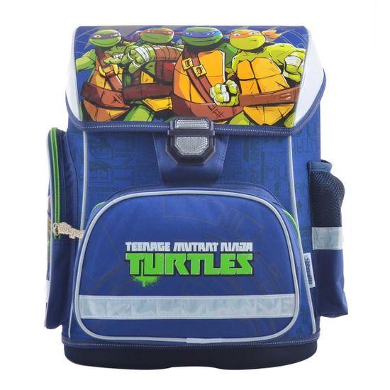 """Рюкзак школьный каркасный 1Вересня """"Turtles"""", арт. 555084"""