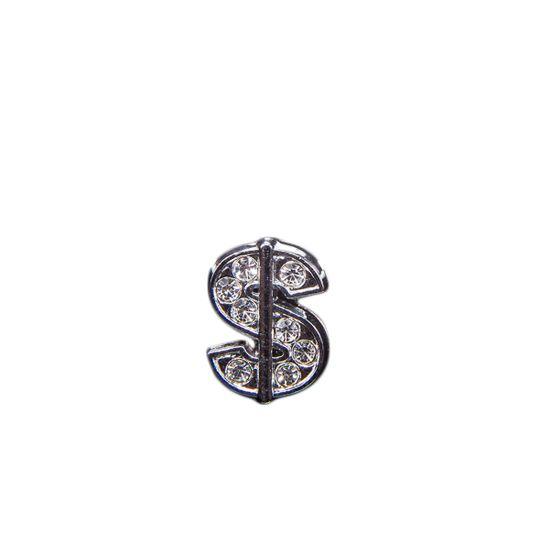 """Эмодзи Tinto """"Silver dollar"""", арт. AC2285, цвет Серебряный"""