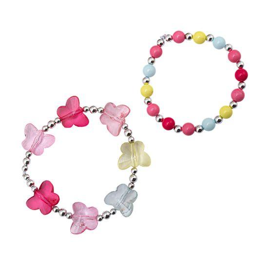 Браслет-резинка (2 шт) Chicco Cute fairy, арт. 090.46359.018, цвет Розовый