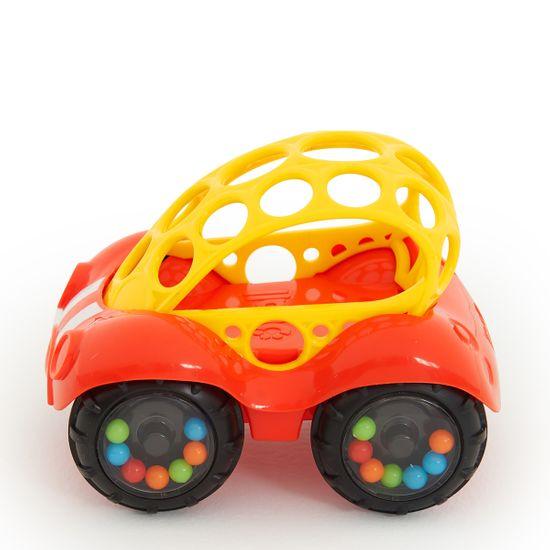 "Машинка Bright Starts ""Rattle & Roll"", 1 шт, арт. 81510, цвет Оранжевый"