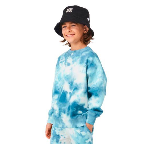 Джемпер Molo Mann Tie Dye, арт. 6W21J202.4705, цвет Голубой