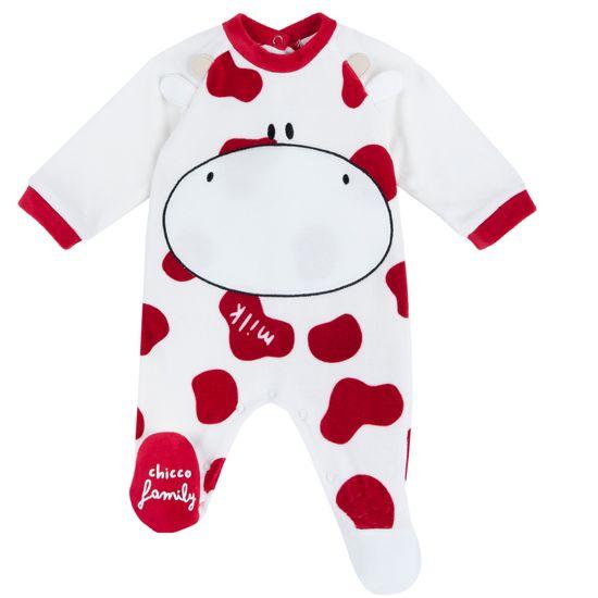 Комбинезон Chicco Joyful cow, арт. 090.02129.030, цвет Красный