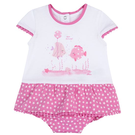 Боди Chicco Girlfriend, арт. 090.50745.015, цвет Розовый